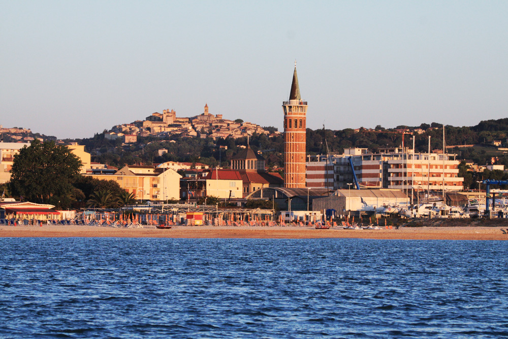 Civitanova Marche and its surrounding area